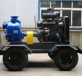 Diesel Engine Driven Self Priming Trash Pump